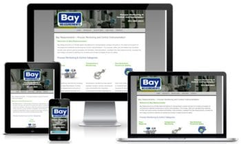 Custom Web Design for Bay Measurements