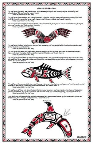 Poster Design featuring Pacific Northwest inspired Illustrations