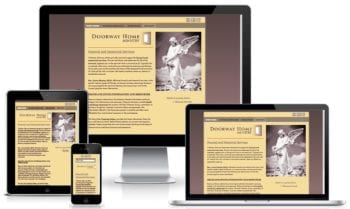 Responsive Web Design Example | Doorway Home
