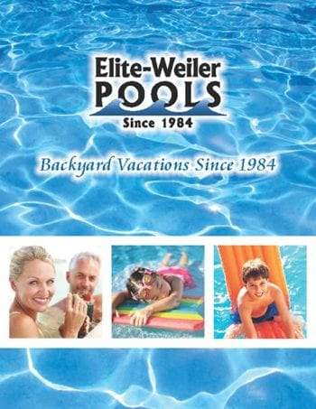 Elite Weiler Pools Flyer Design