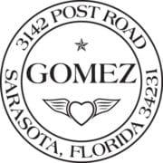 Custom Postmark style Return Address Stamp
