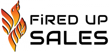 Fired Up Sales Logo inspired by Phoenix