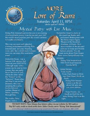 Flyer Design for Rumi Event