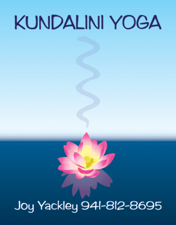 Kundalini Yoga Postcard Design, all vector art