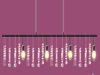 Vector art illustrating High End Light Fixtures