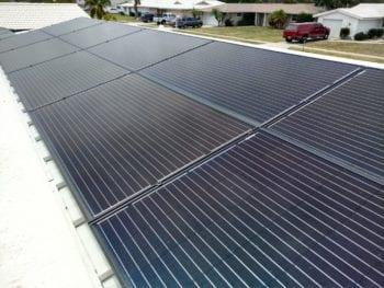 Solar Panels at Frank's Designs