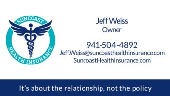 Suncoast Health Insurance Business Card