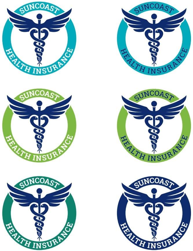 Suncoast Health Insurance Logo Colors