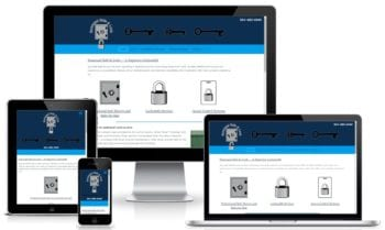 Custom Web Design for Suncoast Safe & Lock Service