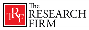 Vector Logo Design for The Research Firm