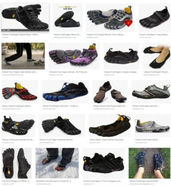 Vibram FiveFingers | Too many choices